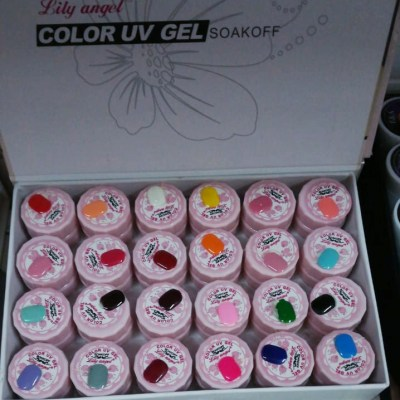 Lily Angel 5ml gel pot set of 24