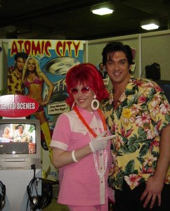 Trade Show Conference Spokesmodel (with Atomic City Elvis!)