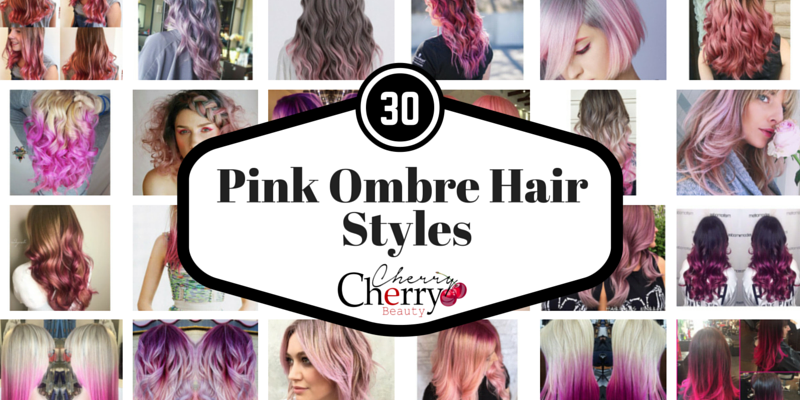 Ombre Pink Hair Styles