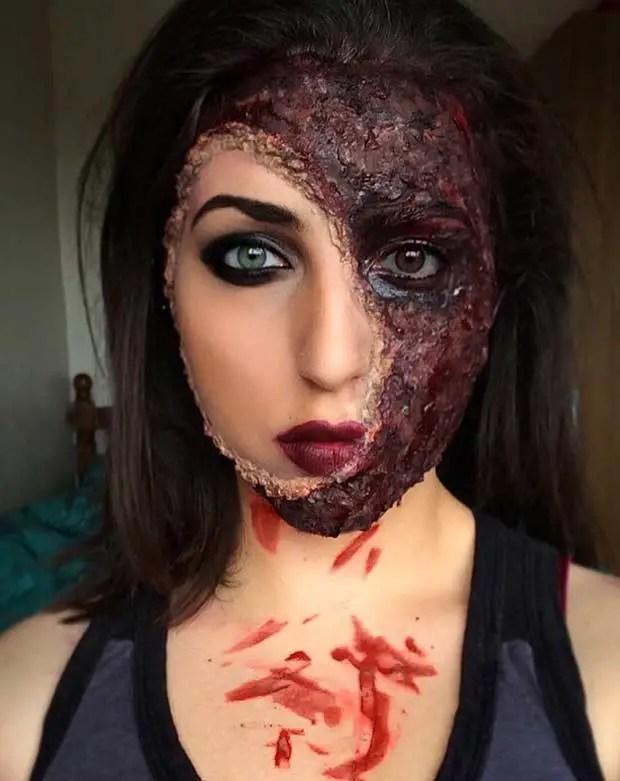 Realistic Halloween Makeup Ideas