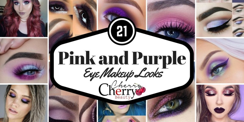 Pink and Purple Eye Makeup Looks