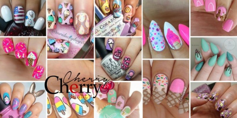 21 Ice Cream Nail Designs