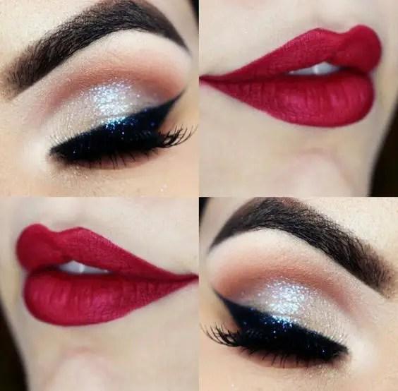 Red Lip Makeup Ideas 5