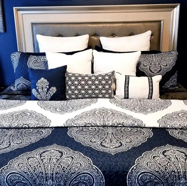 Beautiful Blue Bedrooms 38