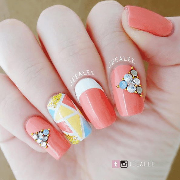 Cute Nails for Spring 2018 8