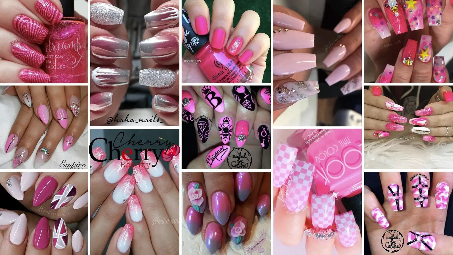 31 Looks: Pretty Pink Nail Inspiration - CherryCherryBeauty
