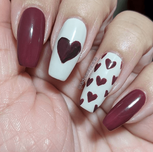 Nails for Valentines Day 18