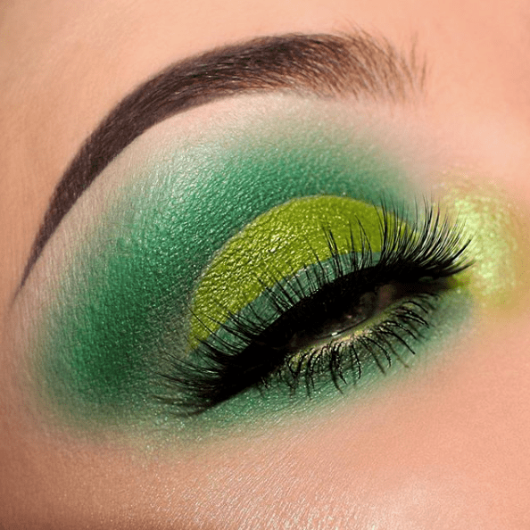 Makeup for St Patricks Day 11