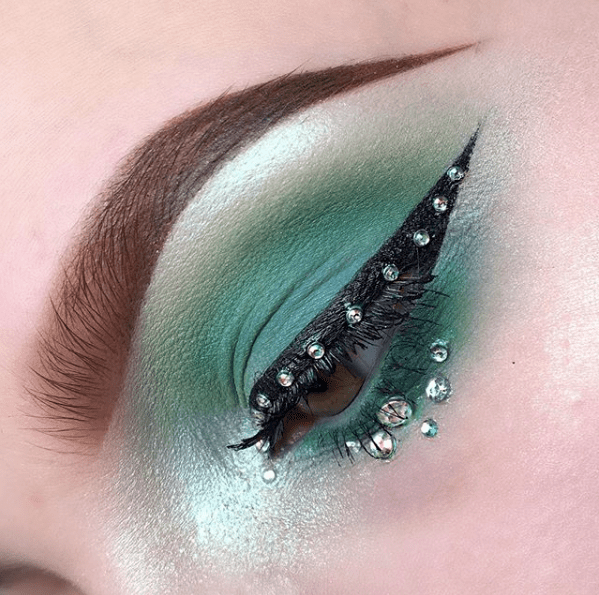 Makeup for St Patricks Day 6