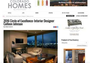 Colorado Homes Article