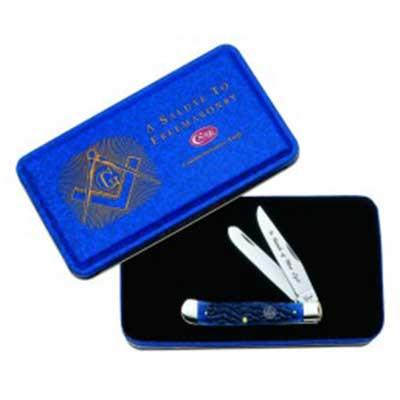 Masonic Gift Tin - Standard Jig Blue Bone Trapper