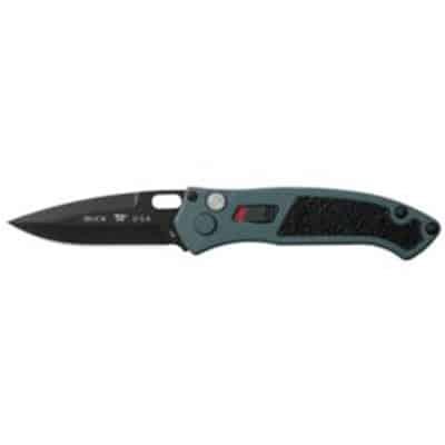 898 Impact, Blue Cerakote Aluminum Handle Black Cerakote Blade