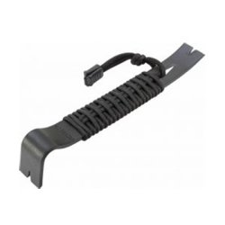 "7.5"" Black Powder Coated SK5 550 Paracord Wrapped Pry Bar"