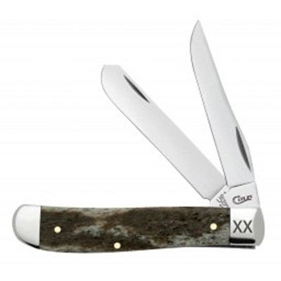 Dark Brown Giraffe Bone Smooth Mini Trapper