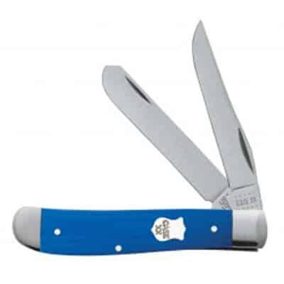 Blue G10 Smooth Mini Trapper