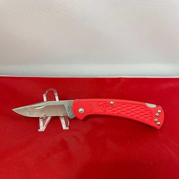 Slim Select Ranger Red Handle Nail Notch
