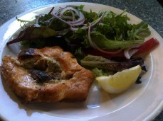 Sat Dinner @ Coasters - Stuffed Salmon