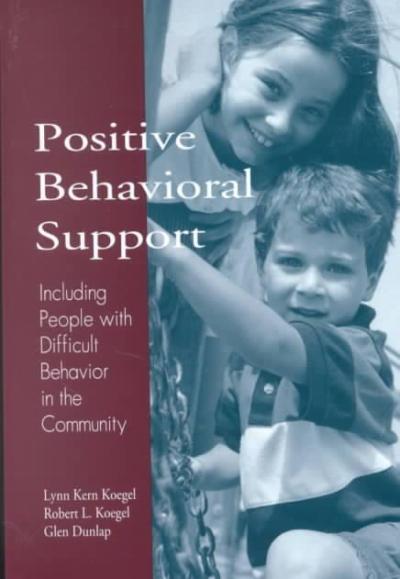 Positive Behavioral Support: