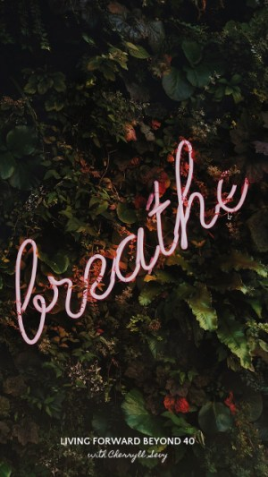 Breathe smartphone wallpaper
