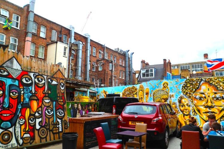 Brick Lane Street Art Graffiti