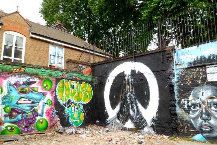 Brick Lane Street Graffiti London