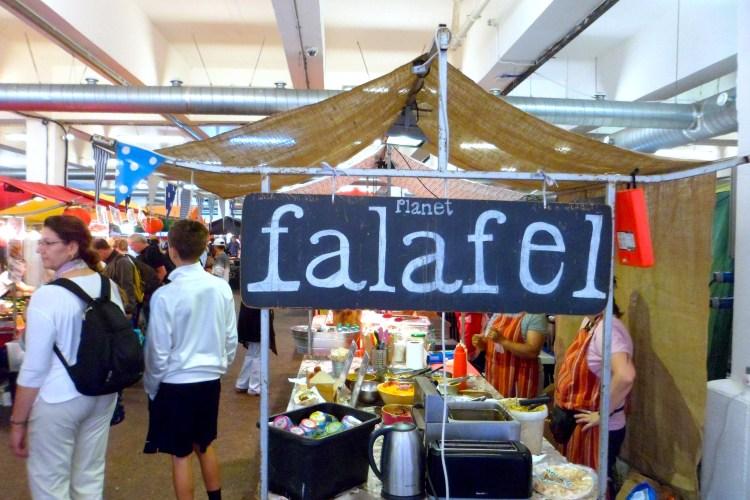 Falafel Brick Lane London Food