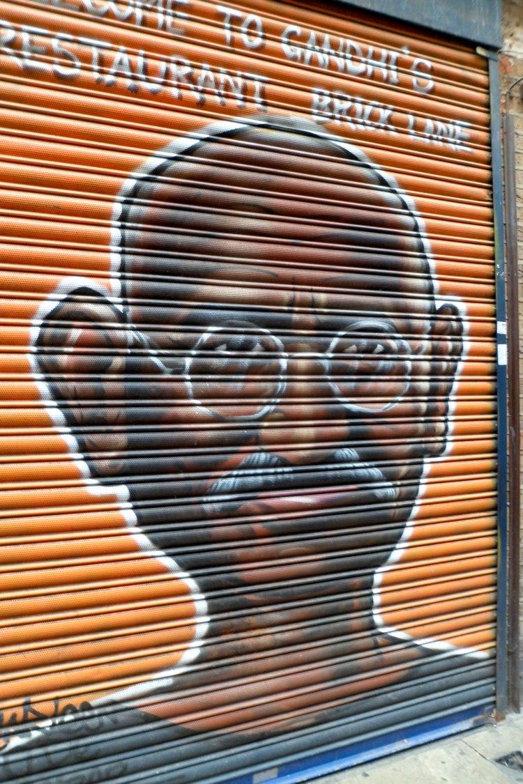Mahatma Gandhi Brick Lane