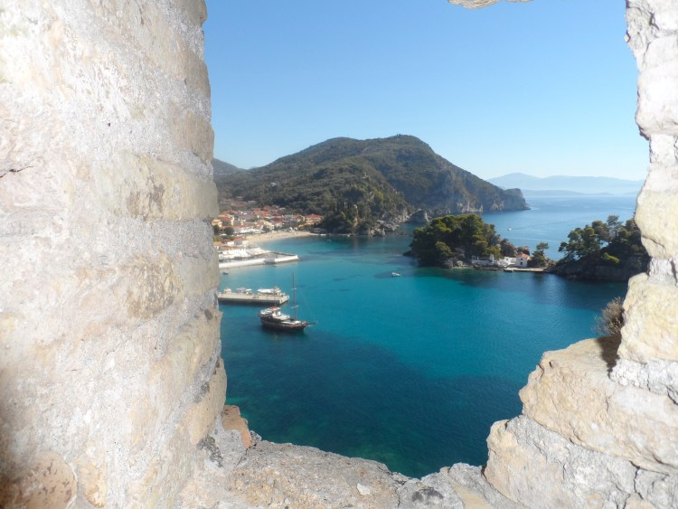 Views Parga Greece Castle Epirus SAM_1904