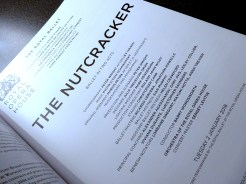 The Nutcracker blog English National Ballet Royal Opera House
