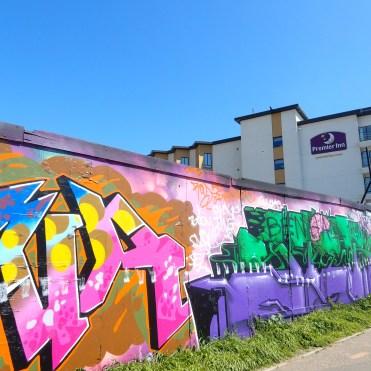 South End On Sea Southend Essex graffiti premier inn DSCN5315