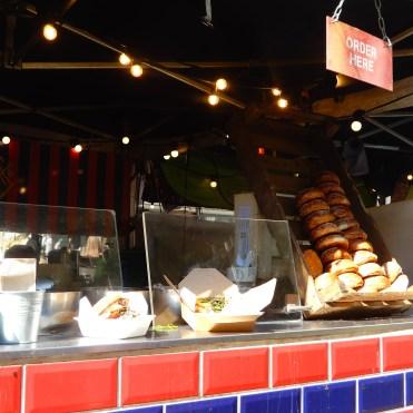 Southbank London River Thames burgers DSCN7815