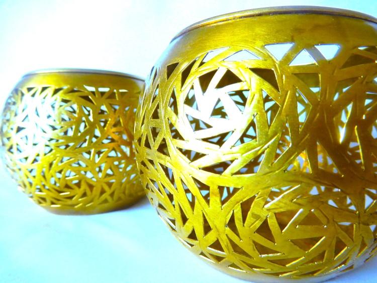 Moroccan tea light holders