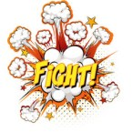 fight-text-on-comic-cloud-explosion-isolated-vector-38306505