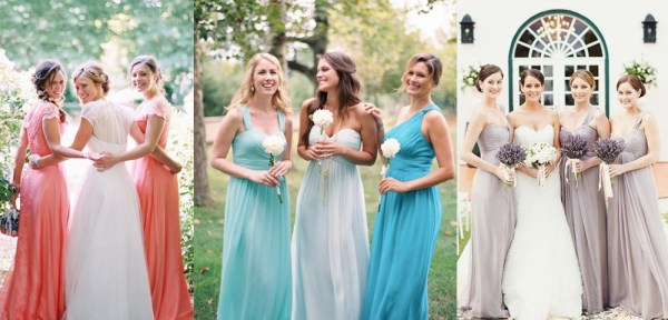 colorful summer bridesmaid dresses