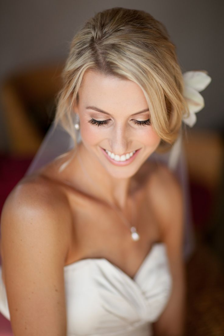 wedding makeup natural for blond hair