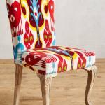 114€ sparen –  Stuhl MARILLE mit Ikatmuster – nur 457,95€