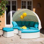 31% sparen – Sonneninsel WHITE COMFORT (4-teilig) – nur 999,99€