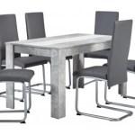 17% sparen – Tischgruppe SANDY Beton Optik/ grau – nur 249,99€