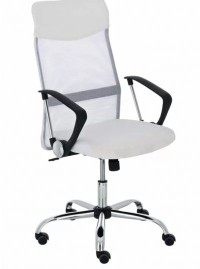 Bürodrehstuhl Weiß