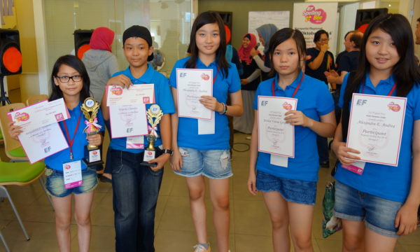 Cherry Montessori School Regional Competition EF English First Indonesia