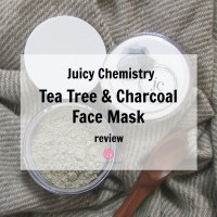 Juicy Chemistry Tea Tree & Charcoal Face Mask Review