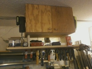 Overhead Bench Storage 1