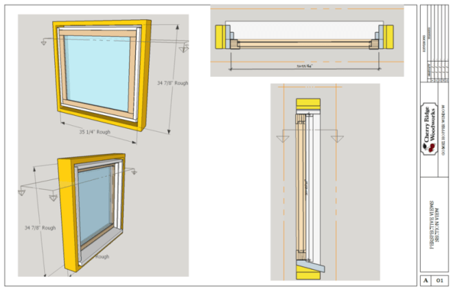 Hopper Window Layout