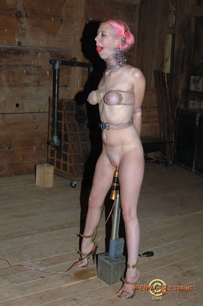 Milf has a new rubber slave 6
