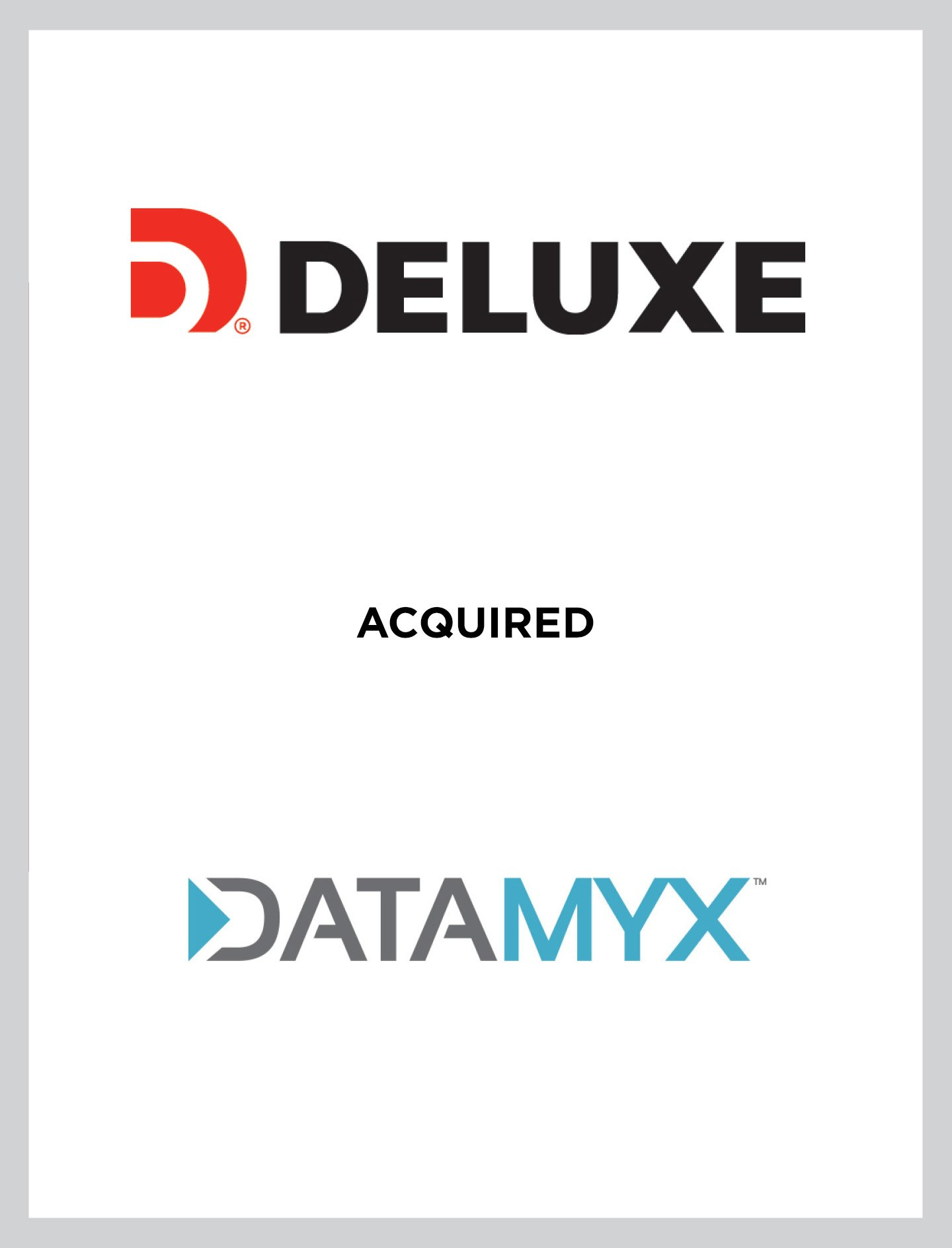 Deluxe/Datamyx Case Study