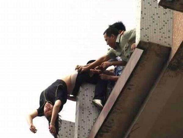 Самоубийсво не удалось (6 фото)