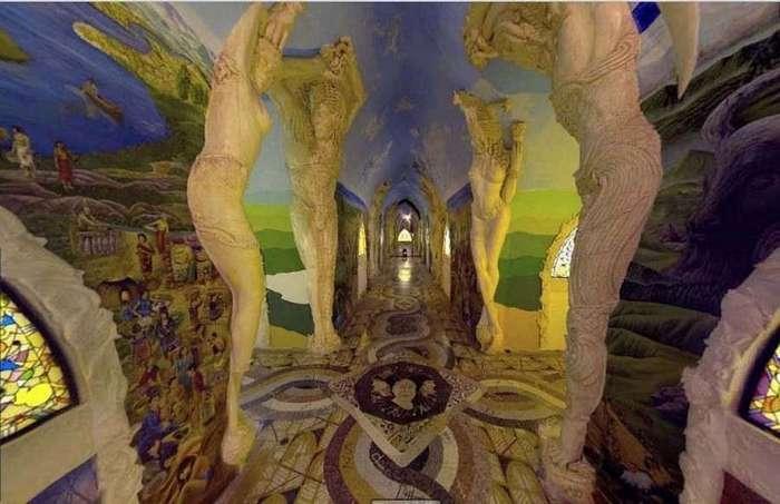 Подземные храмы Даманхур