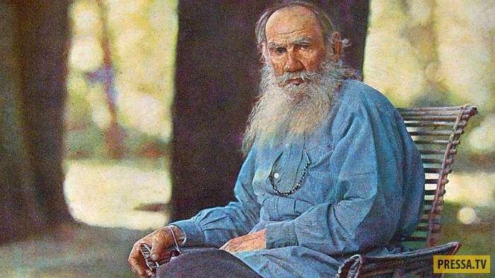 Странные и непредсказуемые поступки великого писателя Льва Толстого (10 фото)