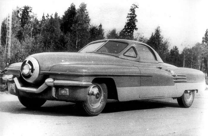 Уникальные советские автомобили-5 фото + 1 видео-