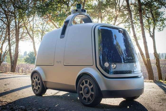 Автомобиль Nuro без педалей и руля сам построит оптимальный маршрут и довезет до пункта назначения